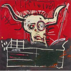 Картина Жана-Мишеля Баския будет выставлена на торги