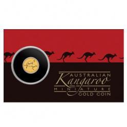 В Австралии выпущена новая золотая монета, масса которой всего полграмма