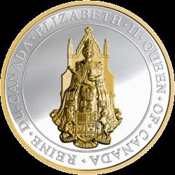 В Канаде выпущена серебряная 25-долларовая монета