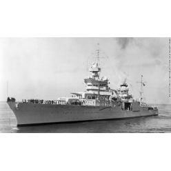 Найден американский крейсер, затонувший 72 года назад