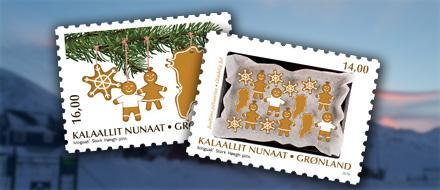 В Гренландии выпущены почтовые марки с ароматом корицы и сосны