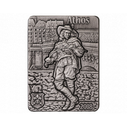 Монеты «Три мушкетера» отчеканены в Германии