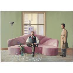 На торги Christie's выставлена картина самого дорогого художника современности Дэвида Хокни