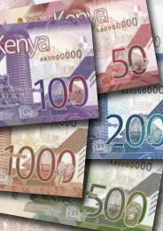 В Кении анонсирован выпуск новой серии банкнот