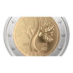 В Эстонии запустят в оборот памятную монету в честь столетия страны