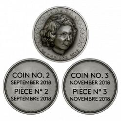 В Канаде отчеканена монета с 3D-эффектом «Юная принцесса»