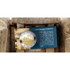 Мальта выпустит в оборот монеты в честь храмового комплекса Хаджар-Ким