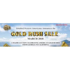 Сегодня стартует аукцион, лоты которого связаны с золотой лихорадкой в США
