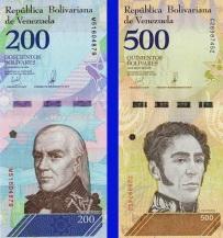 В Венесуэле обновлены две банкноты