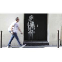 В Париже похищена дверь, на которой Бєнкси нанес графити