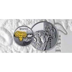 Нацбанк Украины представил очередную монету из серии «Фауна в памятниках культуры Украины»