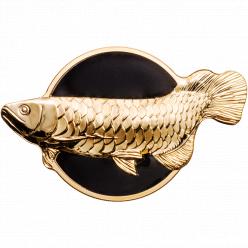 Компания СІТ отчеканила необычную монету «Рыба-дракон»