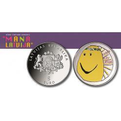 Серебряную коллекционную монету выпустят в Латвии