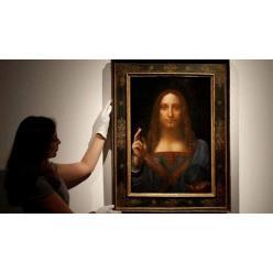 В сентябре Лувр Абу-Даби представит широкой публике картину Леонардо да Винчи «Спаситель мира»
