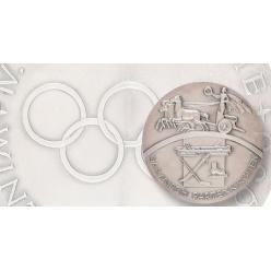 На аукціон виставлена срібна медаль призера Олімпіади 1936 року