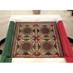 Фрагмент мозаики из корабля древнеримского императора Калигулы стал частью стола