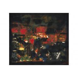 Картина Сайеда Хайдера установила новый рекорд продаж Christie's