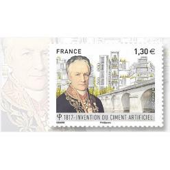 Во Франции посвятили почтовую марку изобретению искусственного цемента