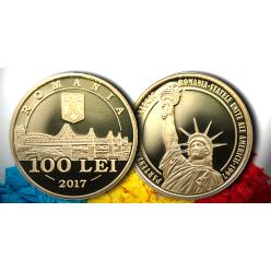 В Румынии посвятили монету юбилею сотрудничества с США