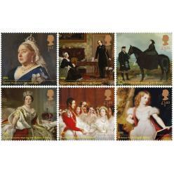Поштові марки, присвячені 200-річчю від дня народження королеви Вікторії