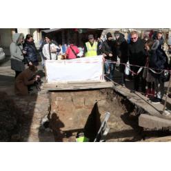 Во Львове найдена стена замка князя Льва Даниловича