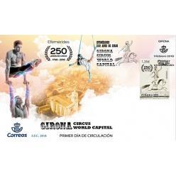 Испания представила марку к 250-летнему юбилею цирка