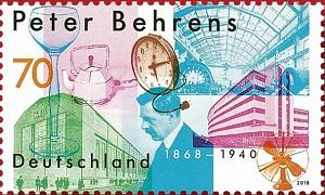 В Германии выпущена марка в честь Питера Беренса