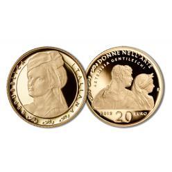 В Италии отчеканена монета с изображением художницы Артемизии Джентилески
