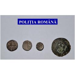 В Румынии полиция обнаружила похищенные римские и дакийские монеты
