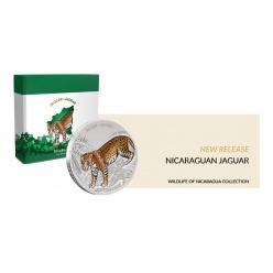 На монете Никарагуа изображен ягуар