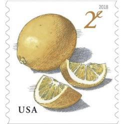 В США выпущена новая марка, посвященная лимонам