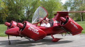 На eBay представлен уникальный летающий автомобиль с вертикальным взлетом