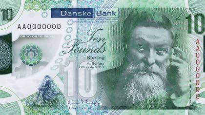 В Северной Ирландии в обращении появятся новые пластиковые банкноты