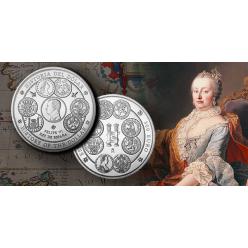 В Испании посвятили серебряную монету истории доллара