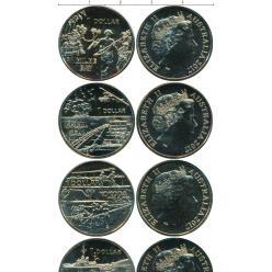 Набор из четырёх монет появился в Австралии