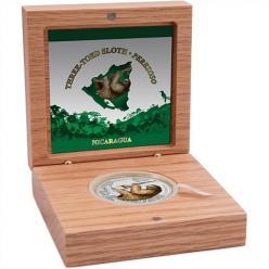 На новой монете Никарагуа изображен ленивец