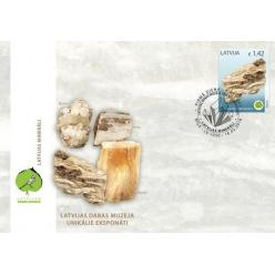 У Латвії випустять поштову марку із зображенням гіпсової скелі