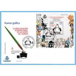 К Международной выставке юмора Испания выпустила марку в виде карикатур