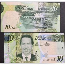 В Ботсване начался выпуск первых пластиковых банкнот