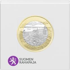 В Финляндии представили монету в честь Национального парка Коли
