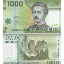 В Чили обновлена банкнота номиналом 1 000 песо