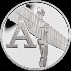 В Британии на монетах отчеканили все буквы алфавита