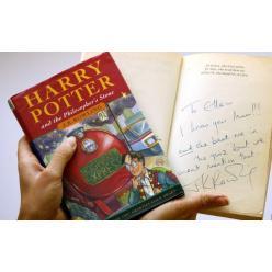 Первое издание книги о Гарри Поттере продано на аукционе
