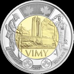 Монета «Битва при Вими» отчеканена в Канаде