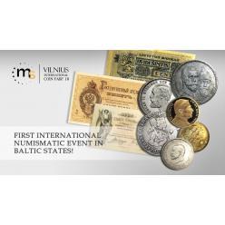 На этих выходных в Вильнюсе пройдет Первая международная выставка монет в странах Балтии