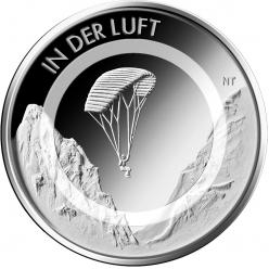 В Германии анонсировали выпуск новой серии монет «Движения в воздухе»