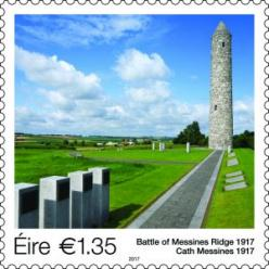 В Ирландии выпустили почтовую марку в память о битве Первой мировой войны
