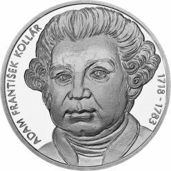 В Словакии появилась монета к 150-летию со дня рождения Адама Франтишека Коллара