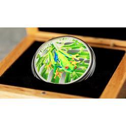 Coin Invest Trust презентовала красочную монету с изображением лягушки