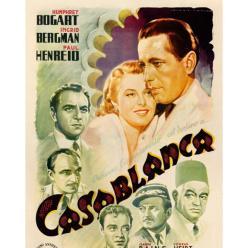На аукционе продан рекламный плакат фильма «Касабланка»